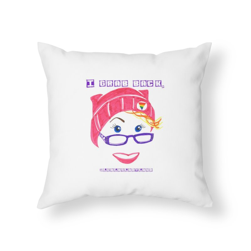 Lady Land Couture! Home Throw Pillow by LEOLA's Artist Shop