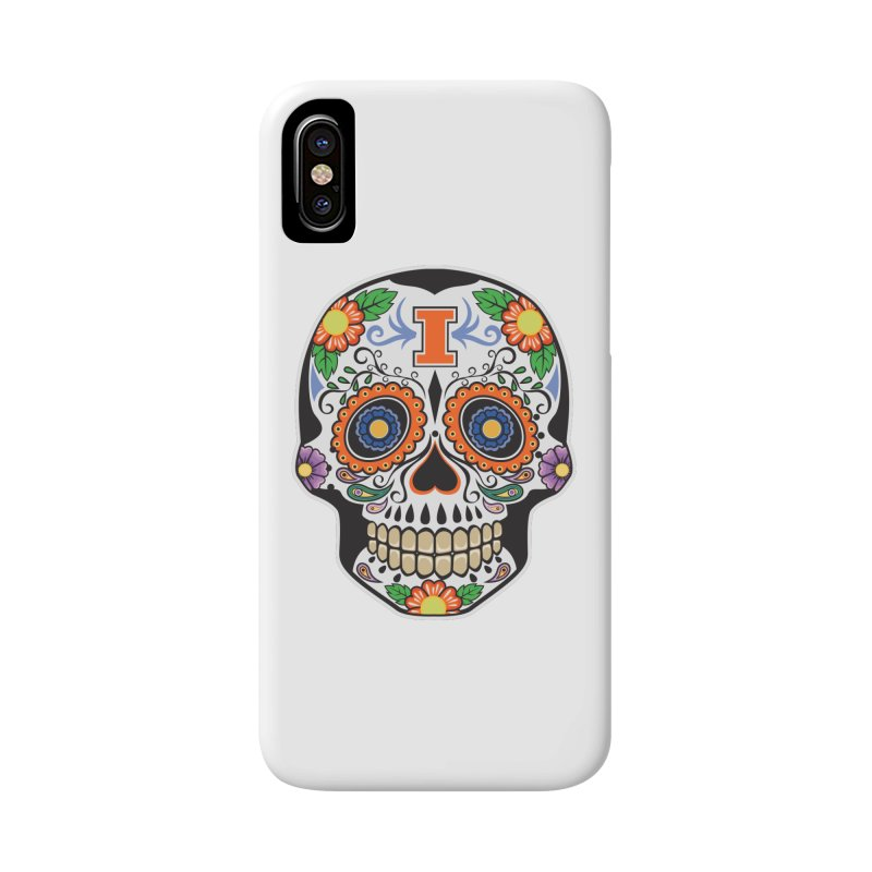 Illini Calavera Accessories Phone Case by LLAA's Artist Shop