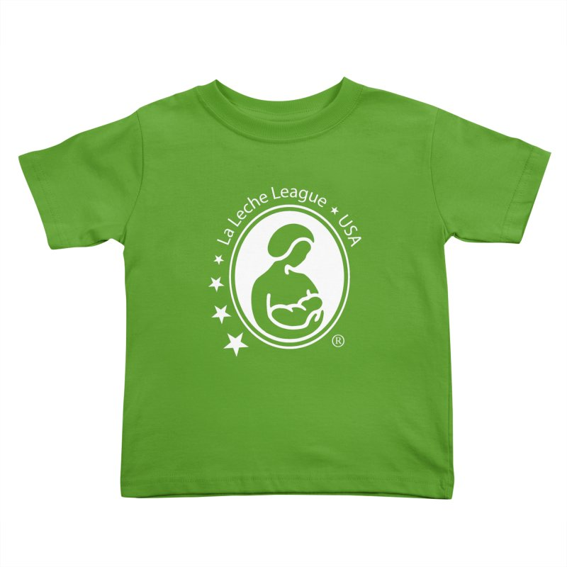 LLL USA Logo White Kids Toddler T-Shirt by LLLUSA's Artist Shop