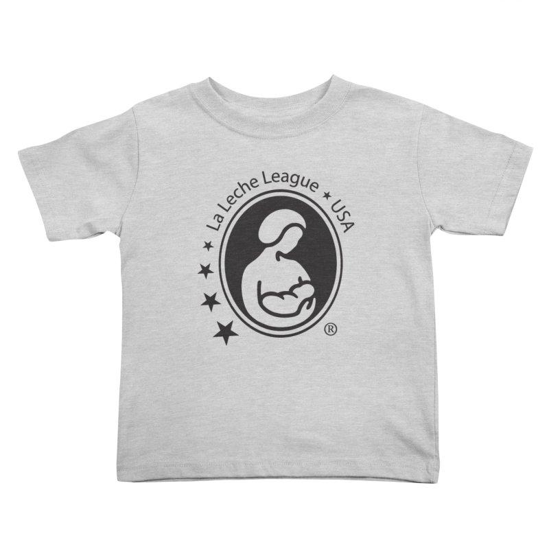 LLL USA Logo Black Kids Toddler T-Shirt by LLLUSA's Artist Shop