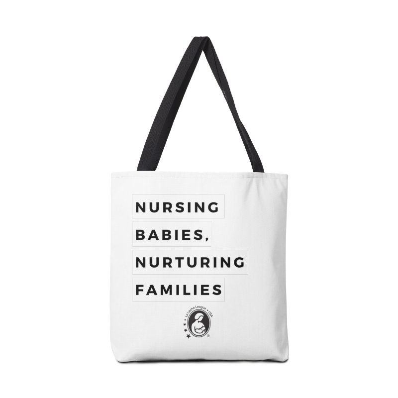Nursing Babies, Nurturing Families Accessories Tote Bag Bag by LLLUSA's Artist Shop