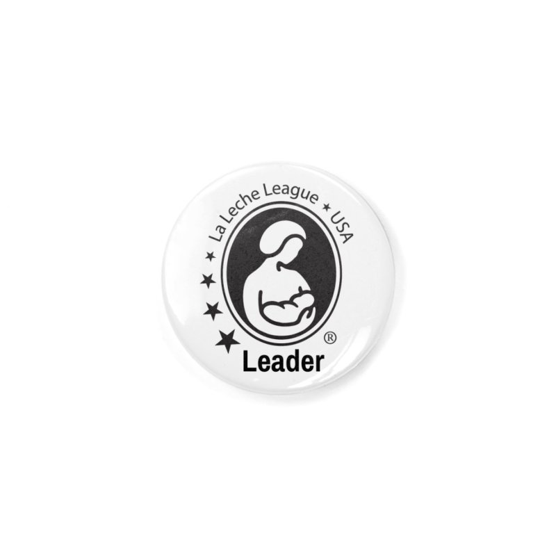 LLL USA Leader- Small Black Logo in Button by LLLUSA's Artist Shop