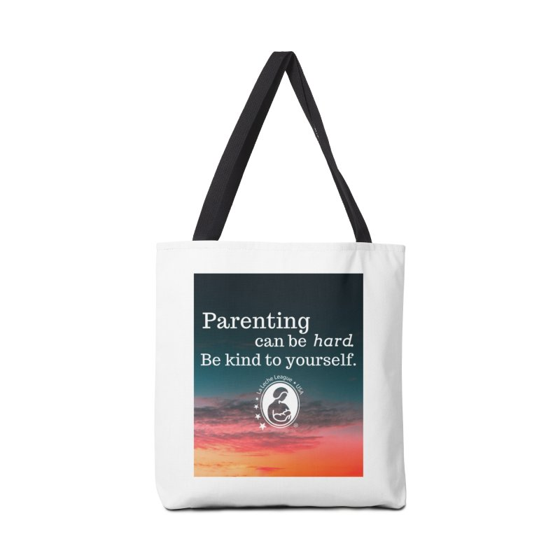 Parenting can be hard. Accessories Tote Bag Bag by LLLUSA's Artist Shop