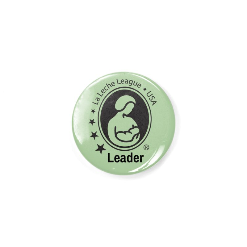 LLL USA Leader- Small Black Logo with color in Button by LLLUSA's Artist Shop