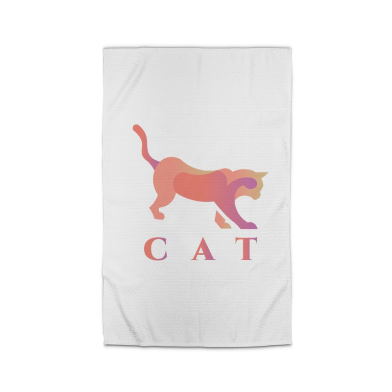 CAT Home Rug by LUVIT