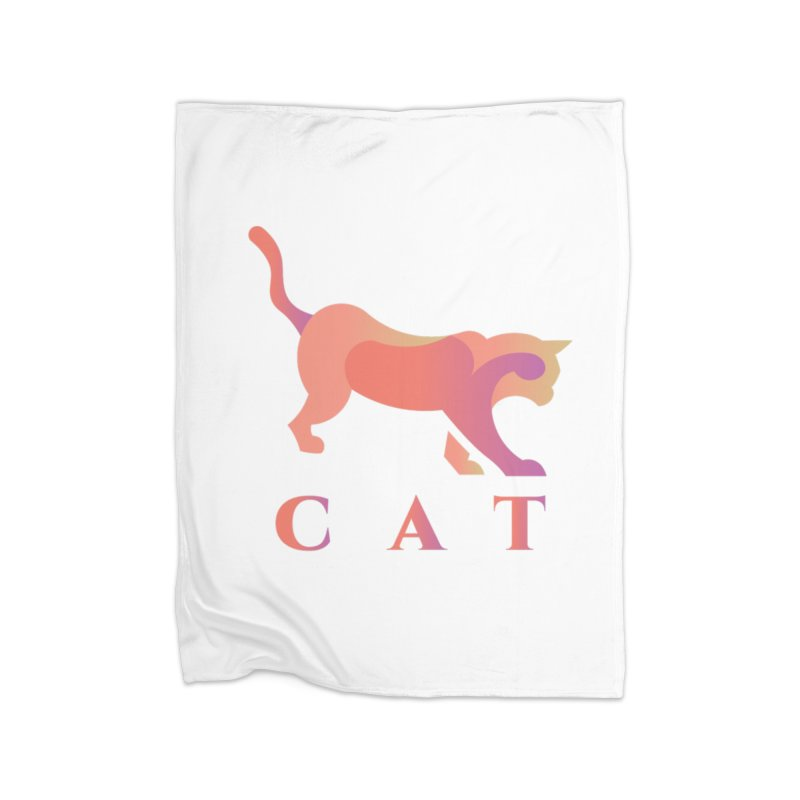 CAT Home Blanket by LUVIT