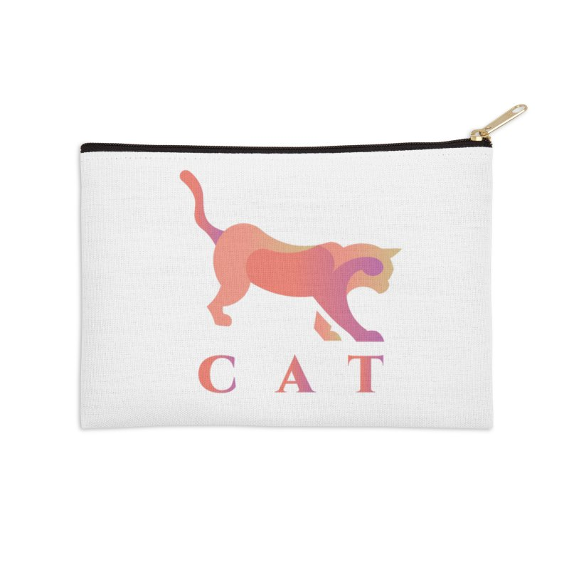 CAT Accessories Zip Pouch by LUVIT