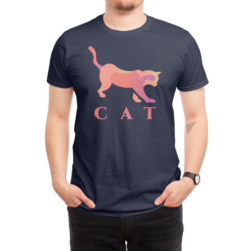 CAT Men's T-Shirt by LUVIT