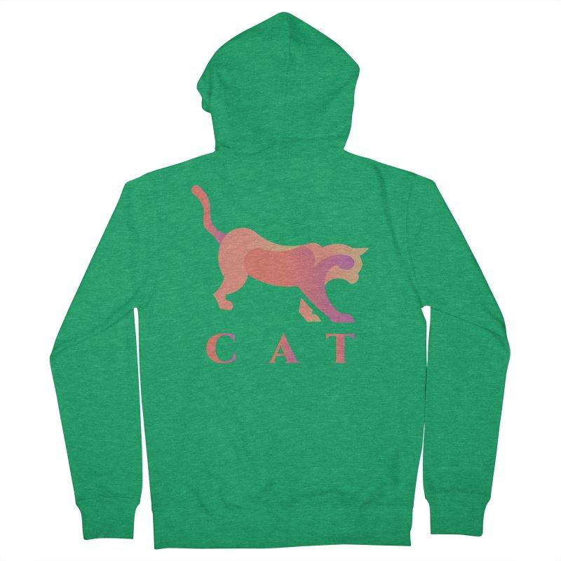CAT Women's Zip-Up Hoody by LUVIT