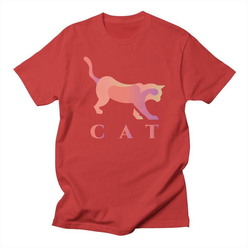CAT Men's T-Shirt by LUVIT