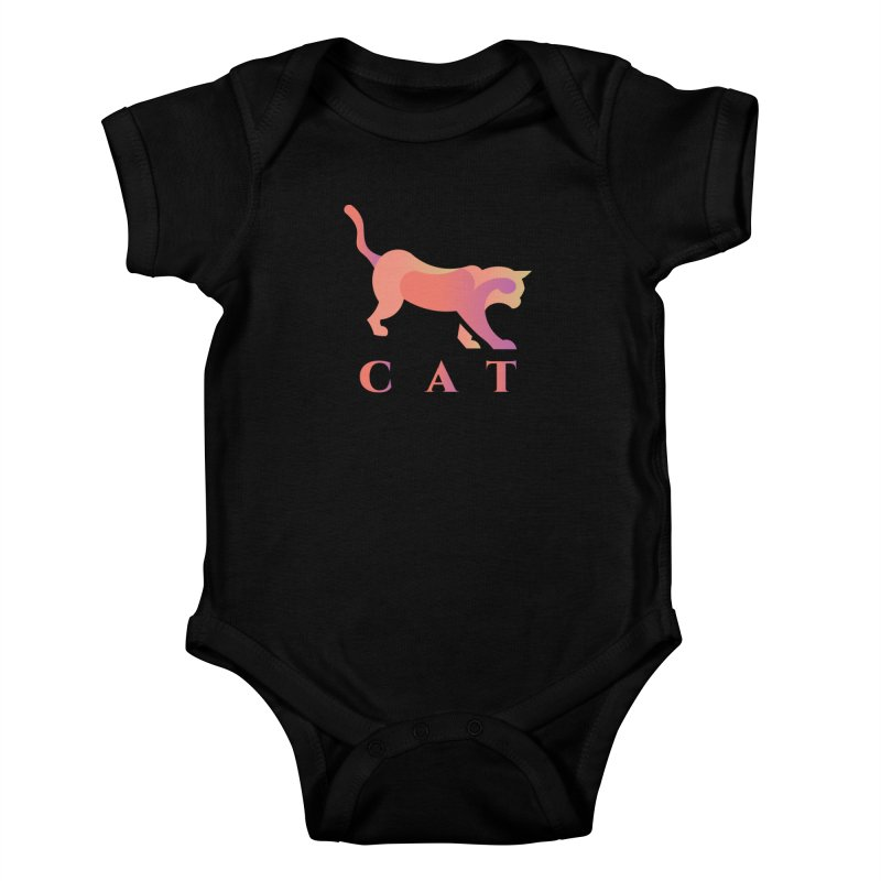 CAT Kids Baby Bodysuit by LUVIT