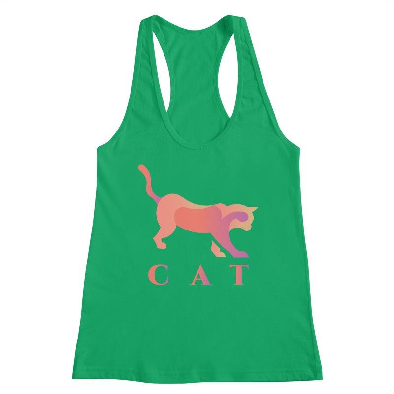 CAT Women's Tank by LUVIT