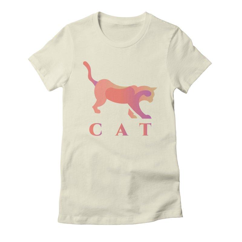 CAT Women's T-Shirt by LUVIT
