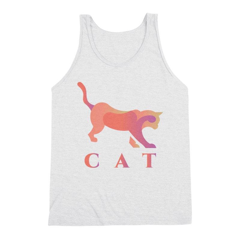 CAT Men's Tank by LUVIT