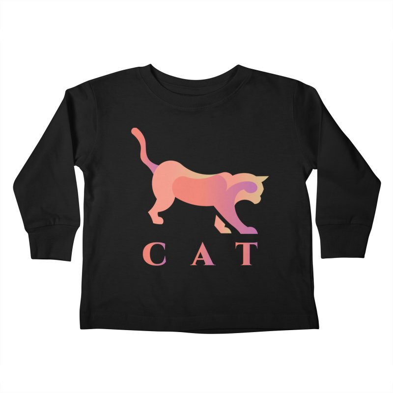 CAT Kids Toddler Longsleeve T-Shirt by LUVIT