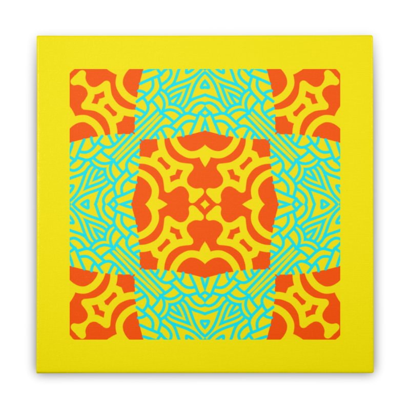 Treasure Lust Home Stretched Canvas by LVA FABRIKA9