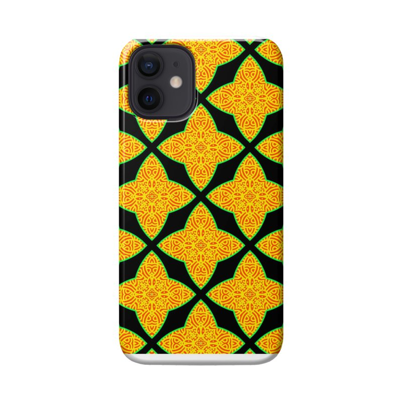 Magic Star Flower Accessories Phone Case by LVA FABRIKA9