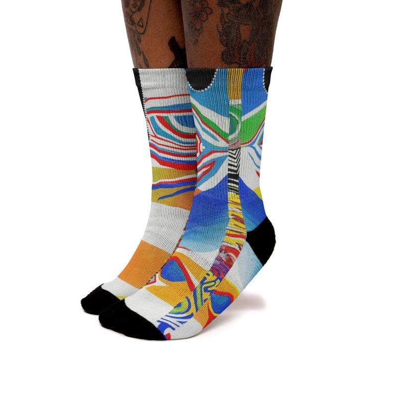 Identity Women's Socks by LVA FABRIKA9