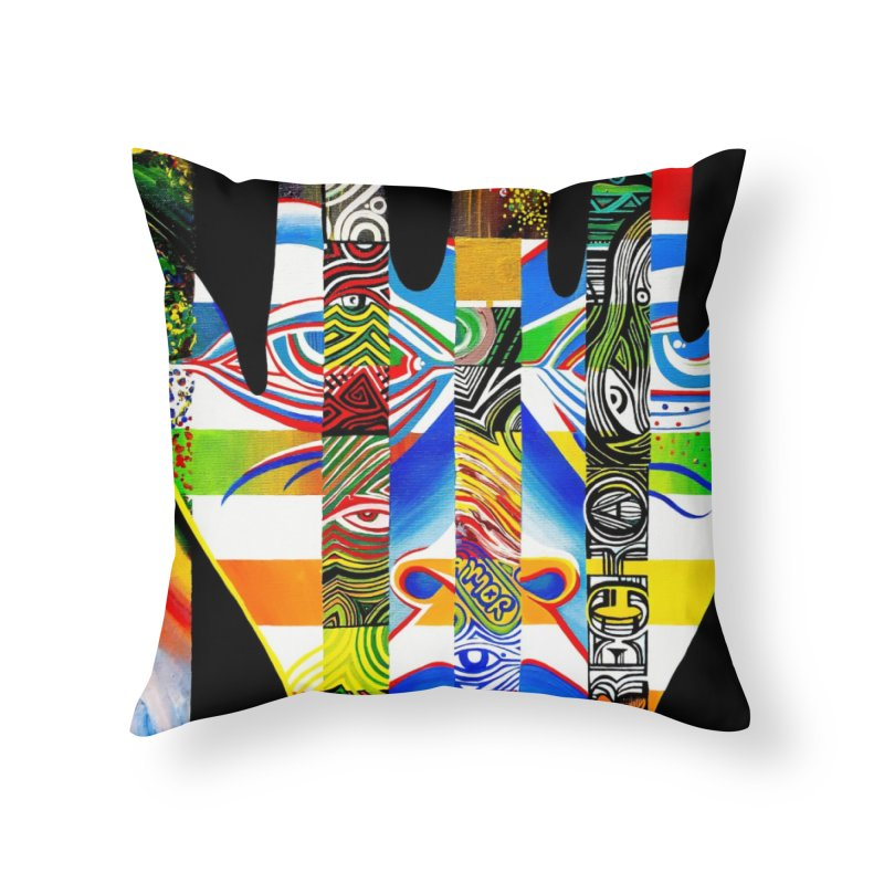 Identity Home Throw Pillow by LVA FABRIKA9