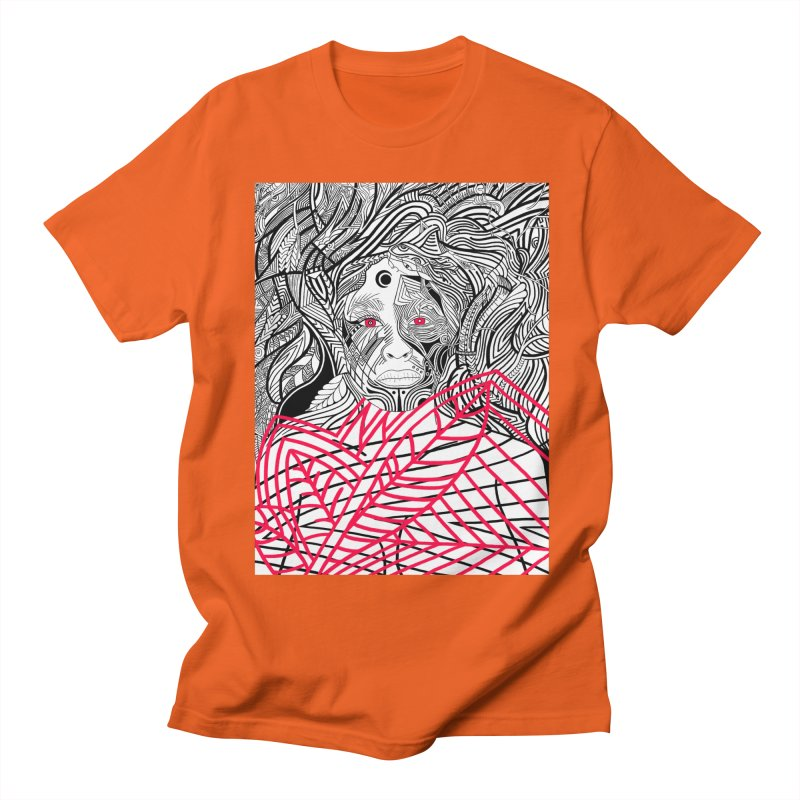 Diligence Men's T-Shirt by LVA FABRIKA9