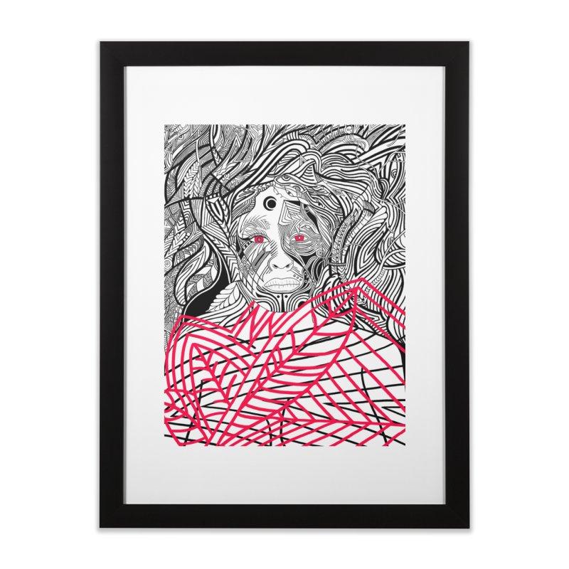 Diligence Home Framed Fine Art Print by LVA FABRIKA9