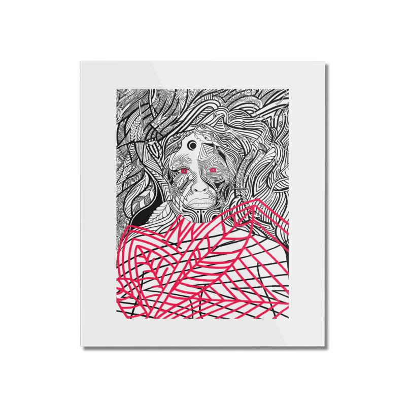 Diligence Home Mounted Acrylic Print by LVA FABRIKA9
