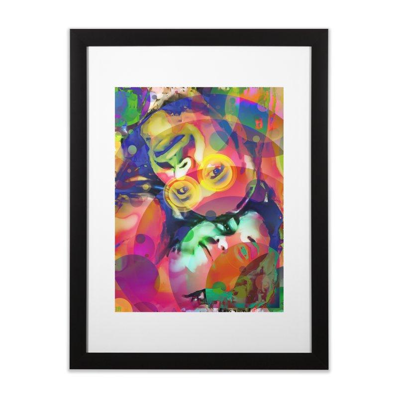 Sonic Love Home Framed Fine Art Print by LVA FABRIKA9