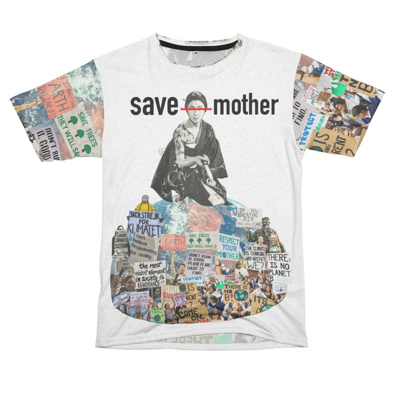 SAVE MOTHER Men's Cut & Sew by LVA FABRIKA9