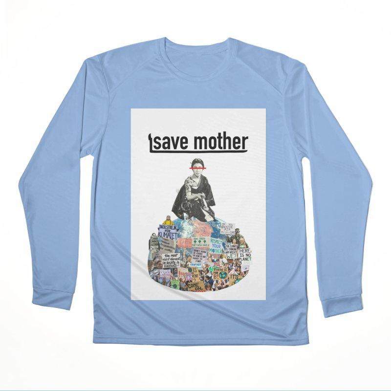 SAVE MOTHER Men's Longsleeve T-Shirt by LVA FABRIKA9