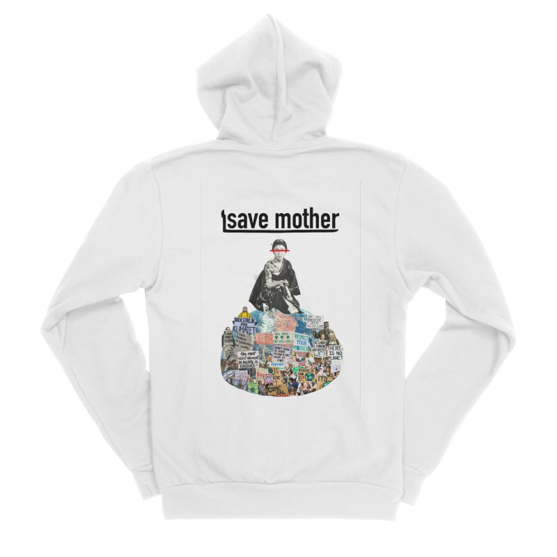 SAVE MOTHER Women's Zip-Up Hoody by LVA FABRIKA9