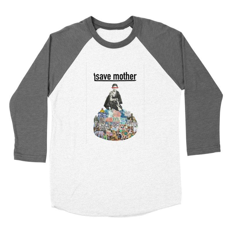 SAVE MOTHER Women's Longsleeve T-Shirt by LVA FABRIKA9