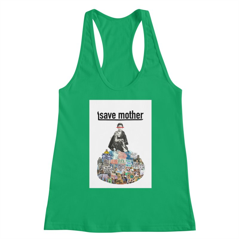 SAVE MOTHER Women's Tank by LVA FABRIKA9