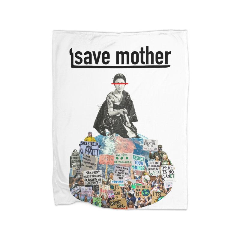 SAVE MOTHER Home Blanket by LVA FABRIKA9