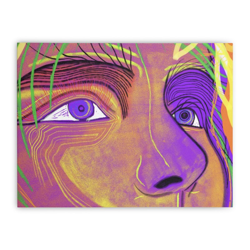 The Way We Feel 1.A Home Stretched Canvas by LVA FABRIKA9