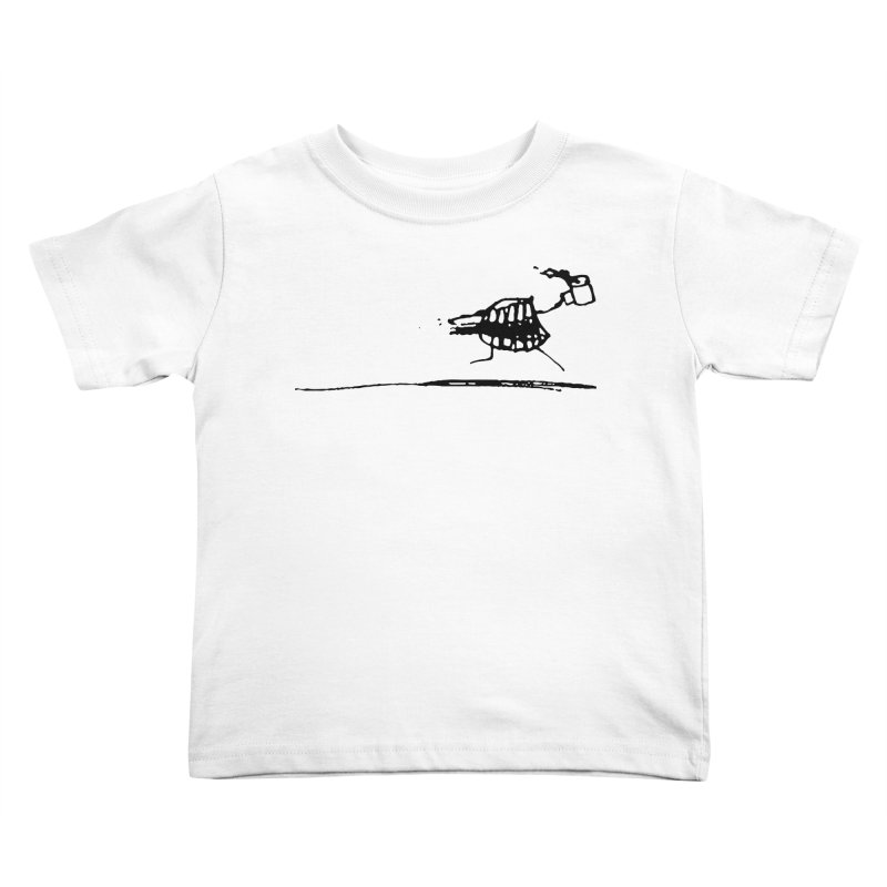Stupid Running Mouth Kids Toddler T-Shirt by Lose Your Reputation