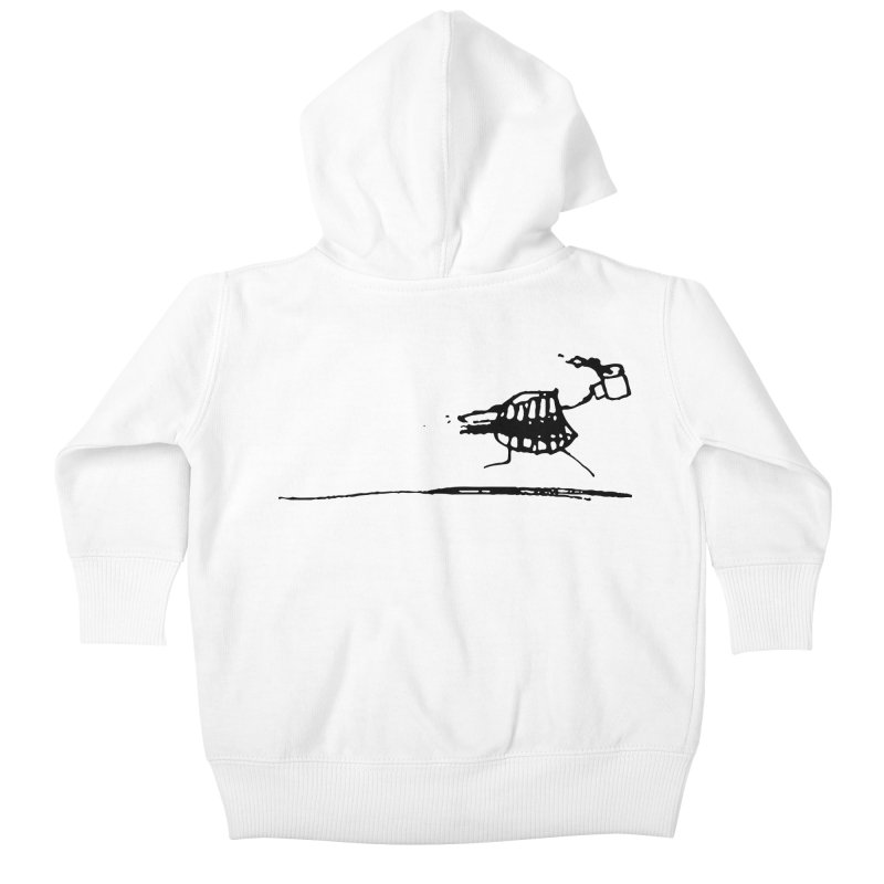 Stupid Running Mouth Kids Baby Zip-Up Hoody by Lose Your Reputation