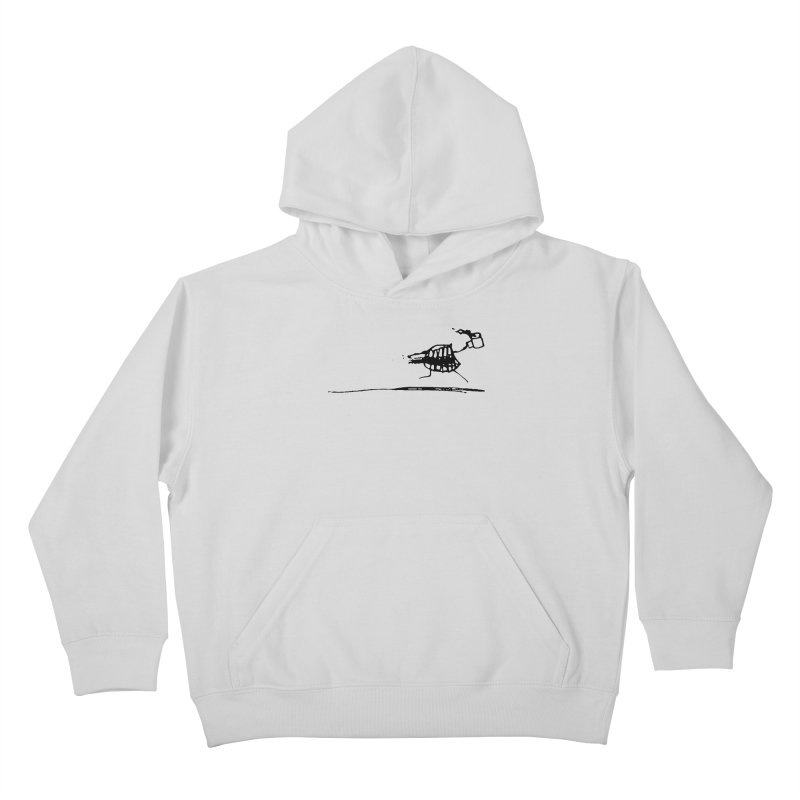 Stupid Running Mouth Kids Pullover Hoody by Lose Your Reputation