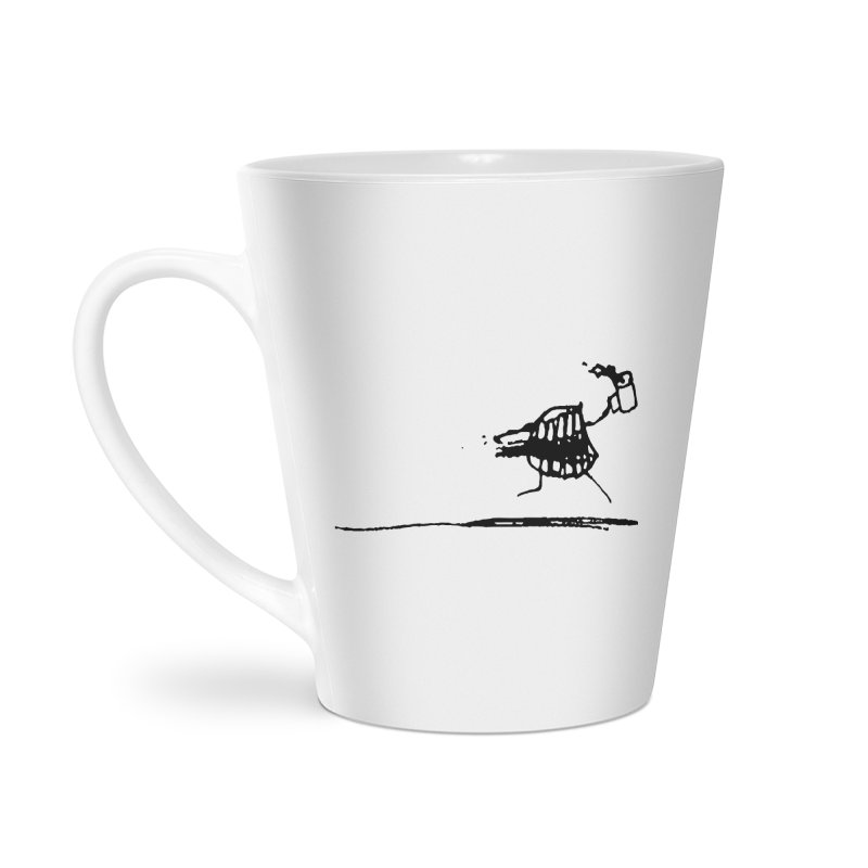Stupid Running Mouth Accessories Latte Mug by Lose Your Reputation