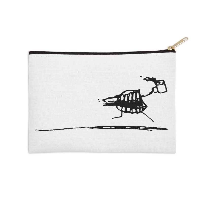 Stupid Running Mouth Accessories Zip Pouch by Lose Your Reputation