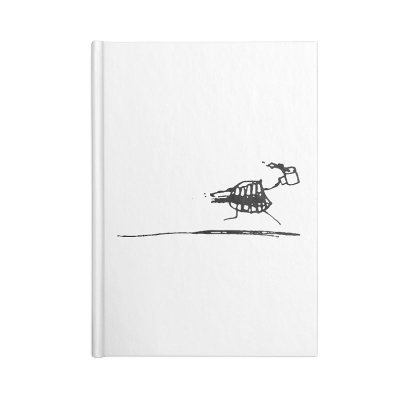 Stupid Running Mouth Accessories Blank Journal Notebook by Lose Your Reputation