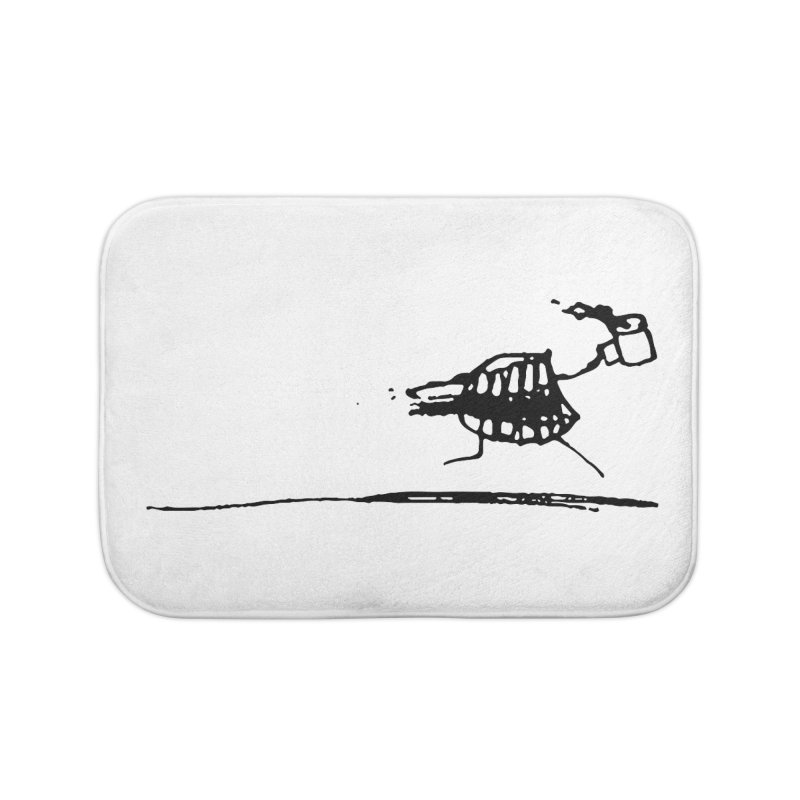 Stupid Running Mouth Home Bath Mat by Lose Your Reputation