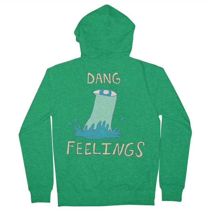 Dang Feelings Men's Zip-Up Hoody by Lose Your Reputation