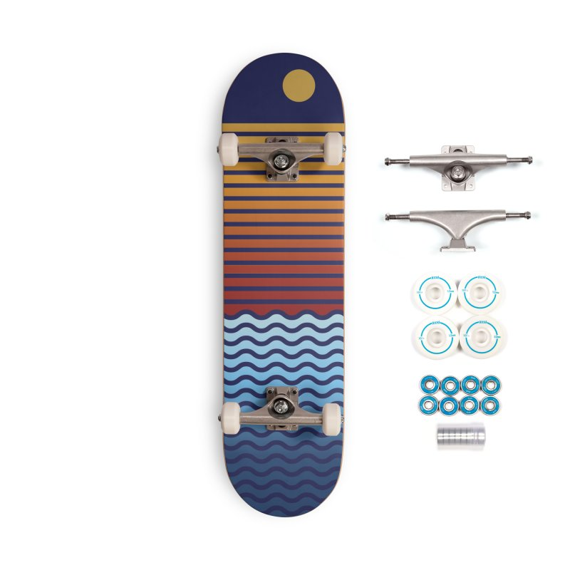 Beach Stack The Deck Accessories Skateboard by Lose Your Reputation