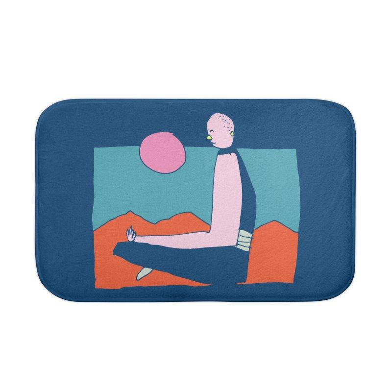 Zen Home Bath Mat by Lose Your Reputation