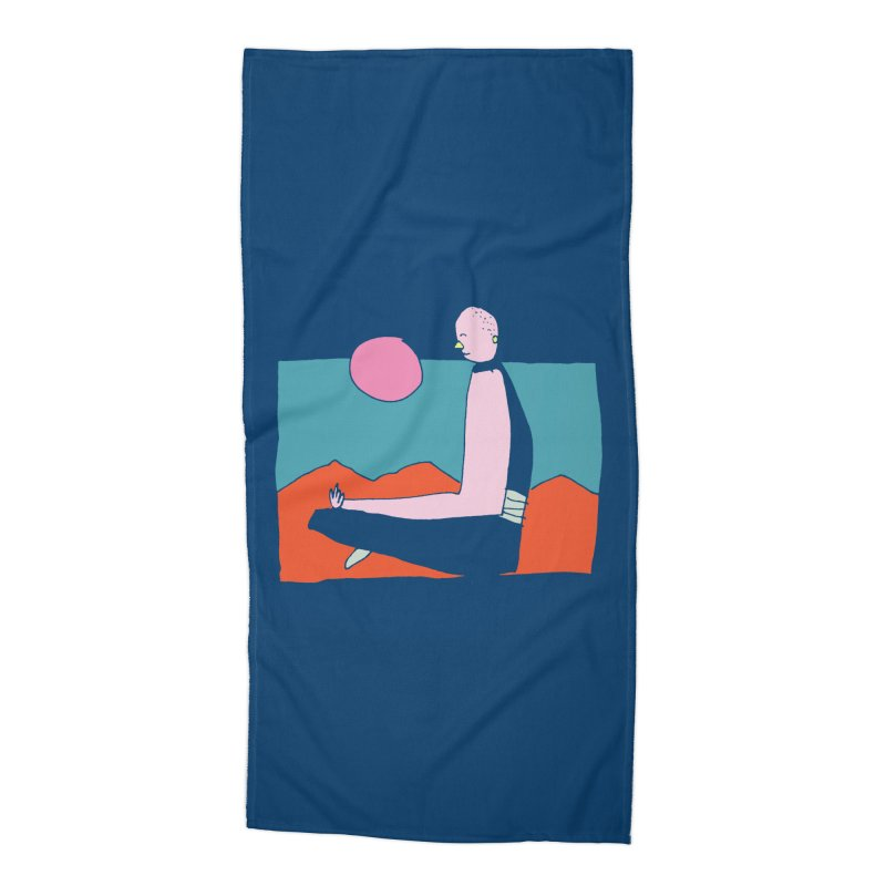 Zen Accessories Beach Towel by Lose Your Reputation