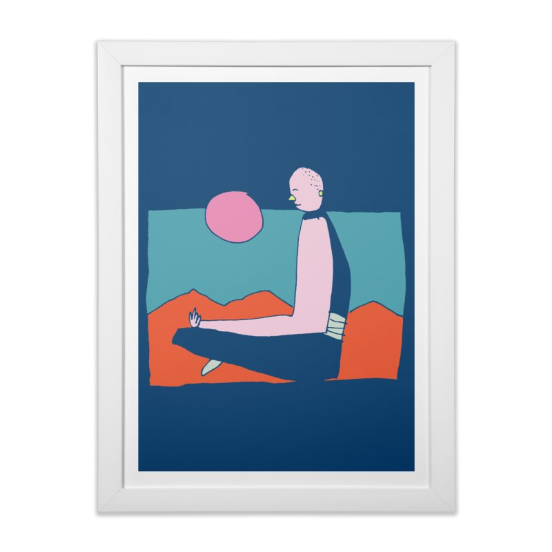 Zen Home Framed Fine Art Print by Lose Your Reputation