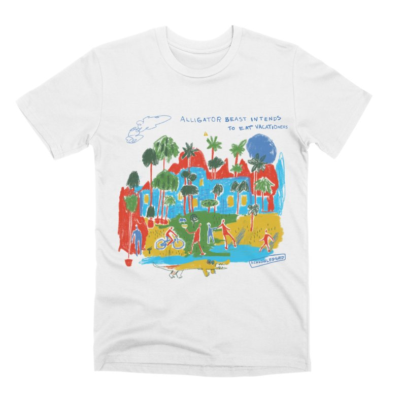 Alligator Beast Men's T-Shirt by Lose Your Reputation