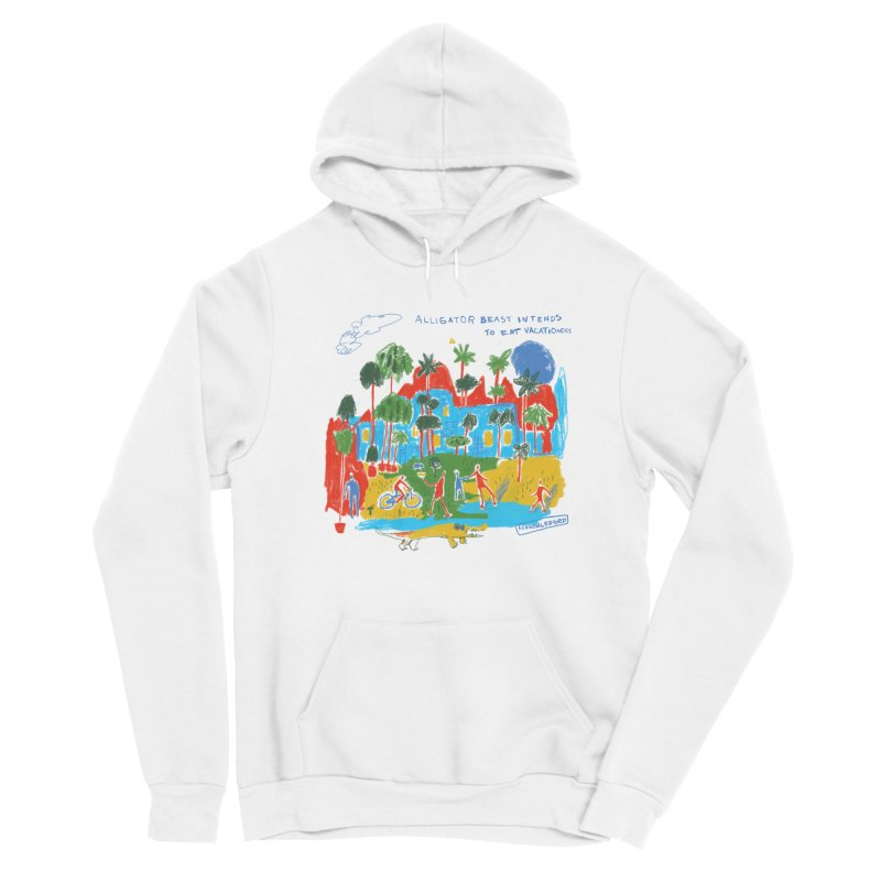 Alligator Beast Women's Pullover Hoody by Lose Your Reputation