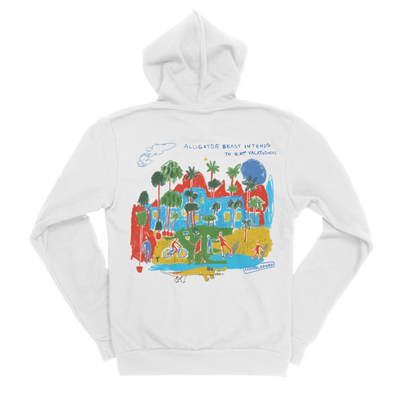 Alligator Beast Men's Zip-Up Hoody by Lose Your Reputation