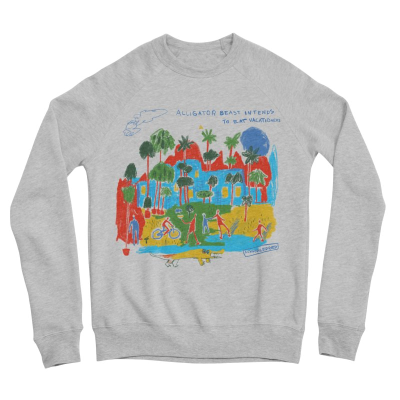 Alligator Beast Women's Sweatshirt by Lose Your Reputation